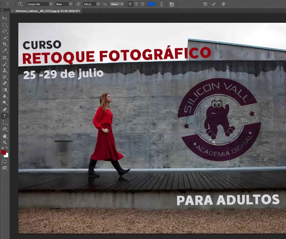 Photoshop curso adultos julio