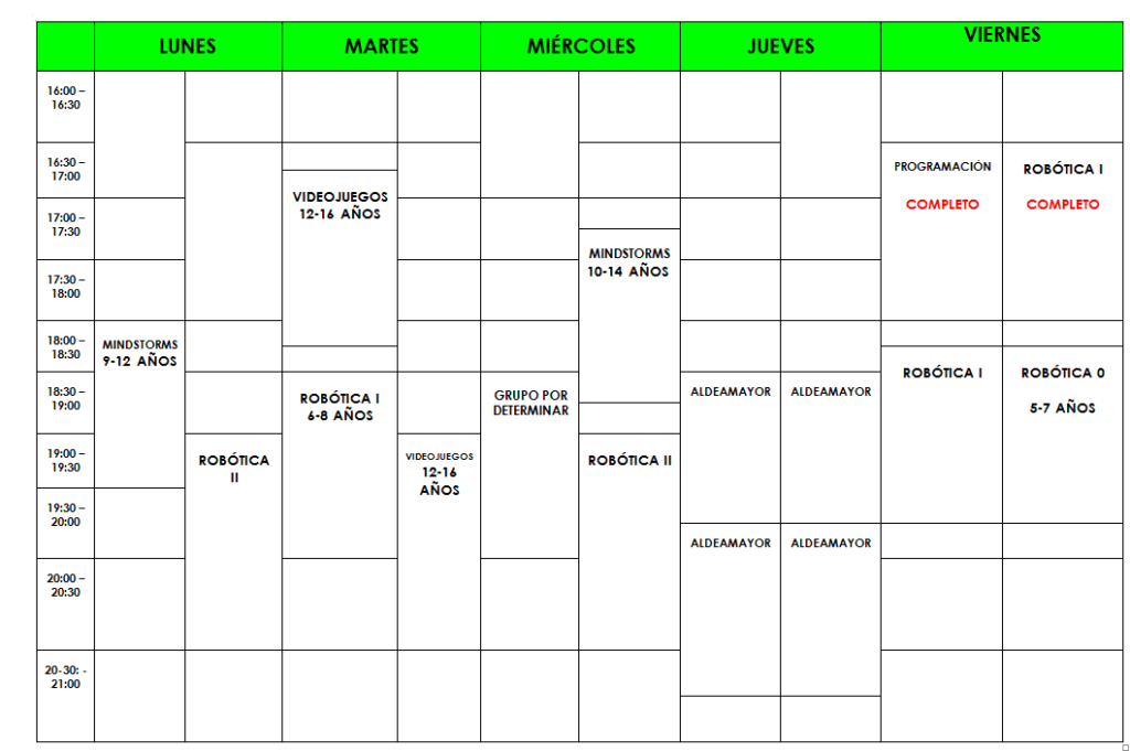 horario-academia-siliconvall-2017-2018