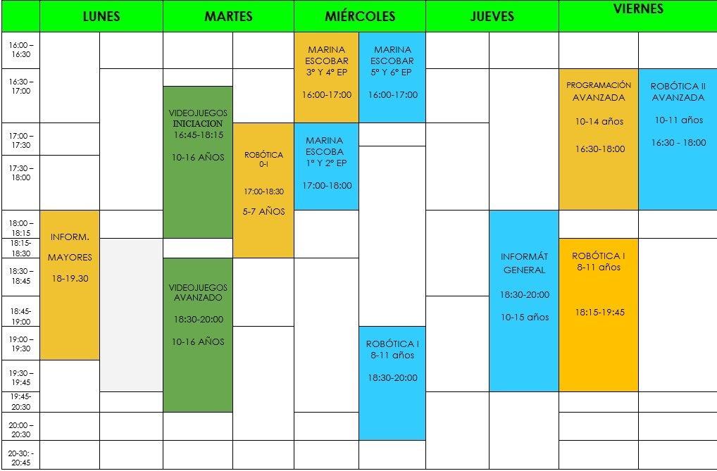 horario siliconvall