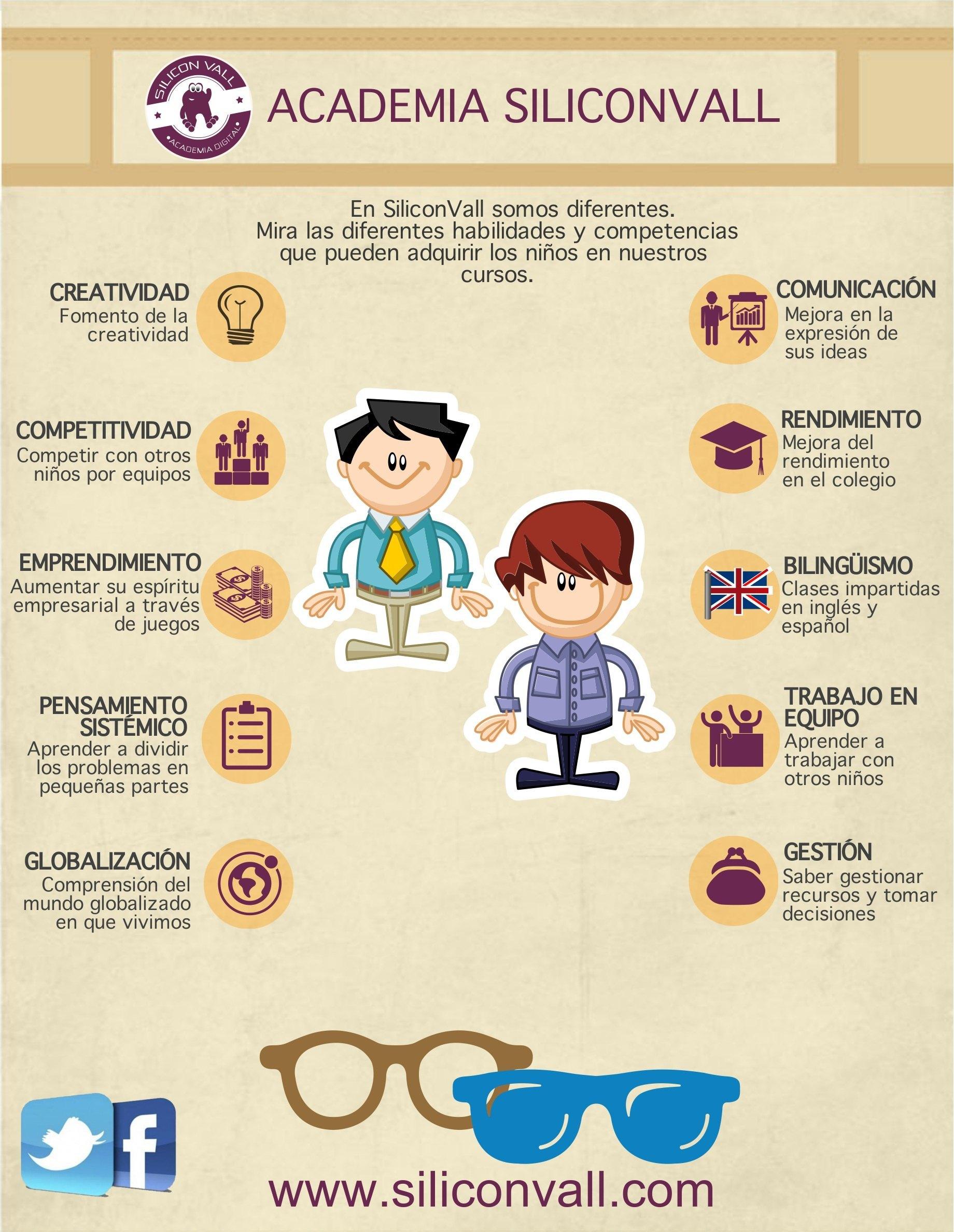 Qué habilidades se desarrollan al estudiar en la Academia SiliconVall
